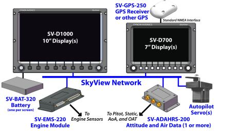 SkyView Network Schematic