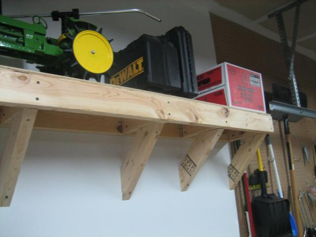 Wall Mounted Workbench Plans