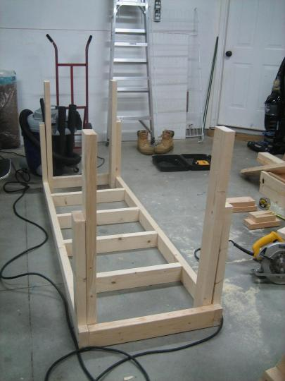 Workbench Construction 015