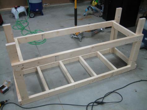 building plans computer workbench