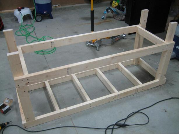 Build garage workbench plans wooden pdf free computer desk for Build your garage online
