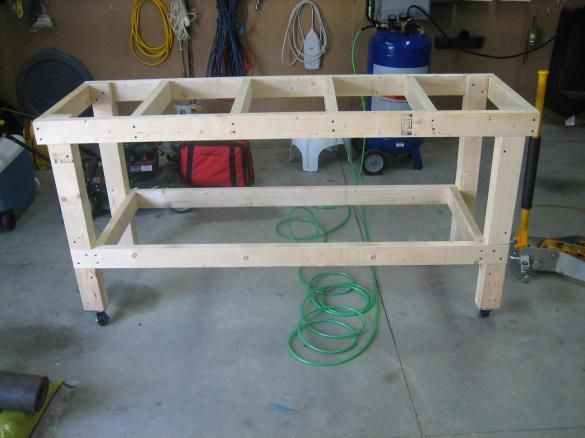 workbench plans platform bed