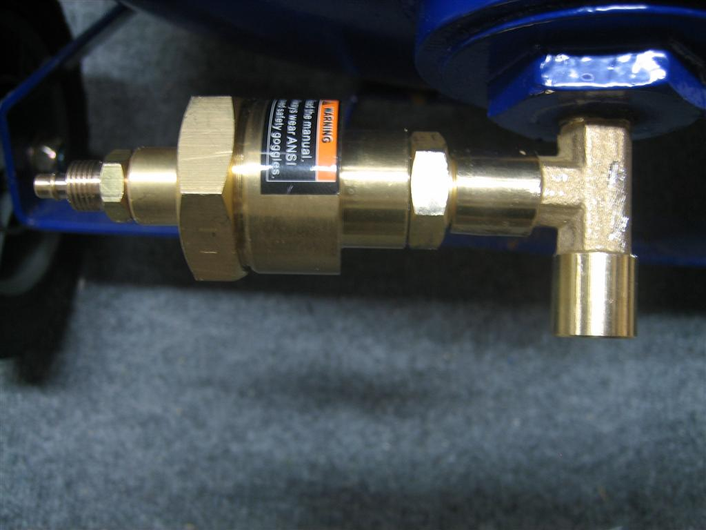 How to Replace Air Compressor Drain Valve