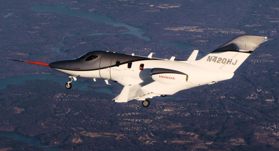 Hondajet advanced private jets of luxury for Honda private jet
