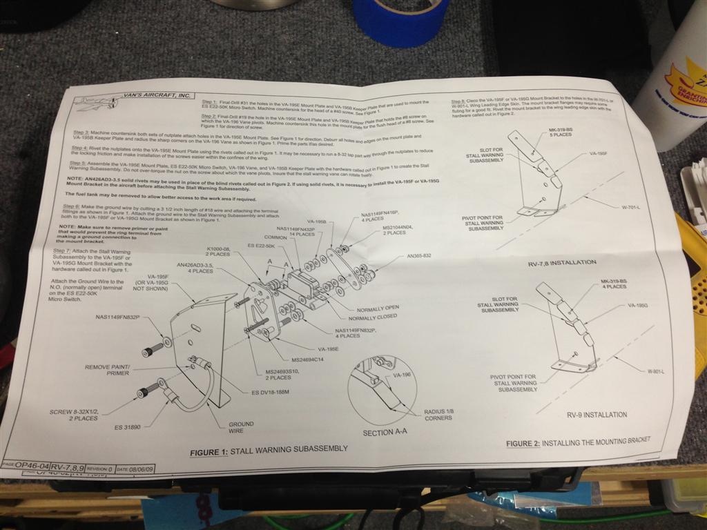 Stall Warning | Andrew's RV-7 Build Log on